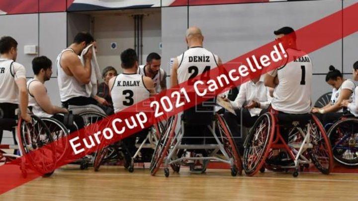 Canceladas todas las competiciones europeas de baloncesto en silla de ruedas