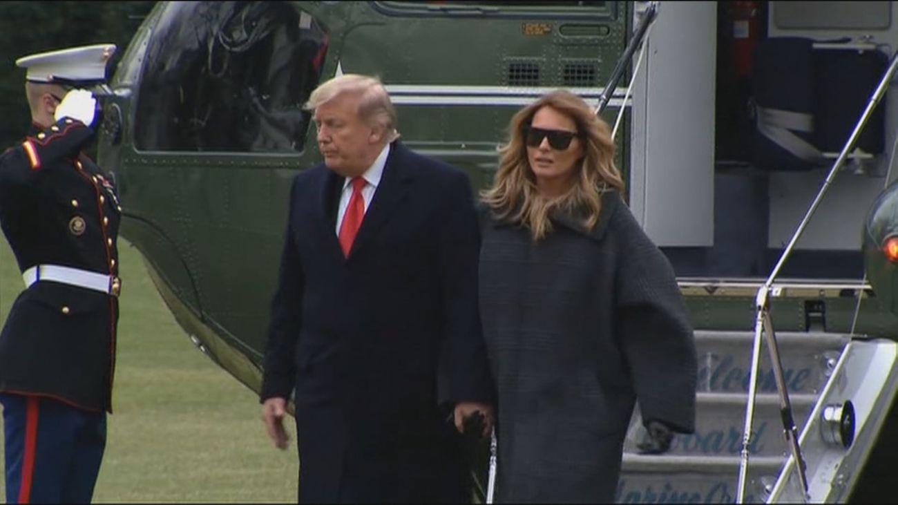 Trump no asistirá a la toma de posesión de Biden y organiza su propia despedida con un desfile militar