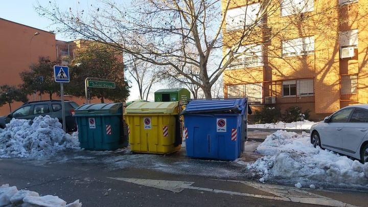 Rivas retoma la recogida de basuras tras despejar sus calles