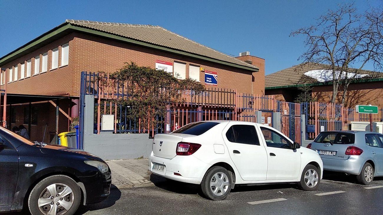 Exteriores del Colegio Público 'Las Acacias' de Pozuelo