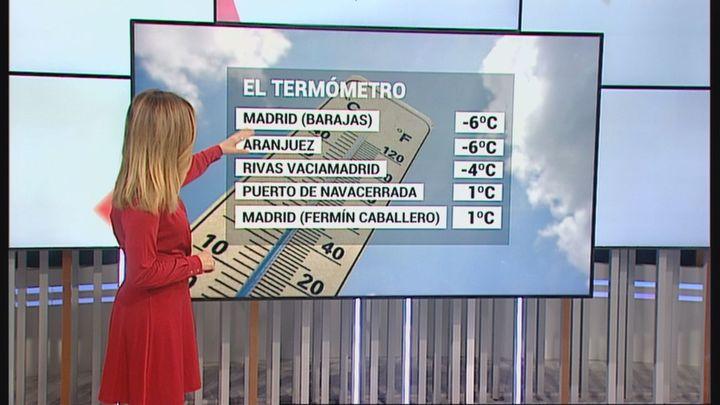 Madrid, a la espera de las lluvias este miércoles, con heladas y temperaturas máximas en descenso