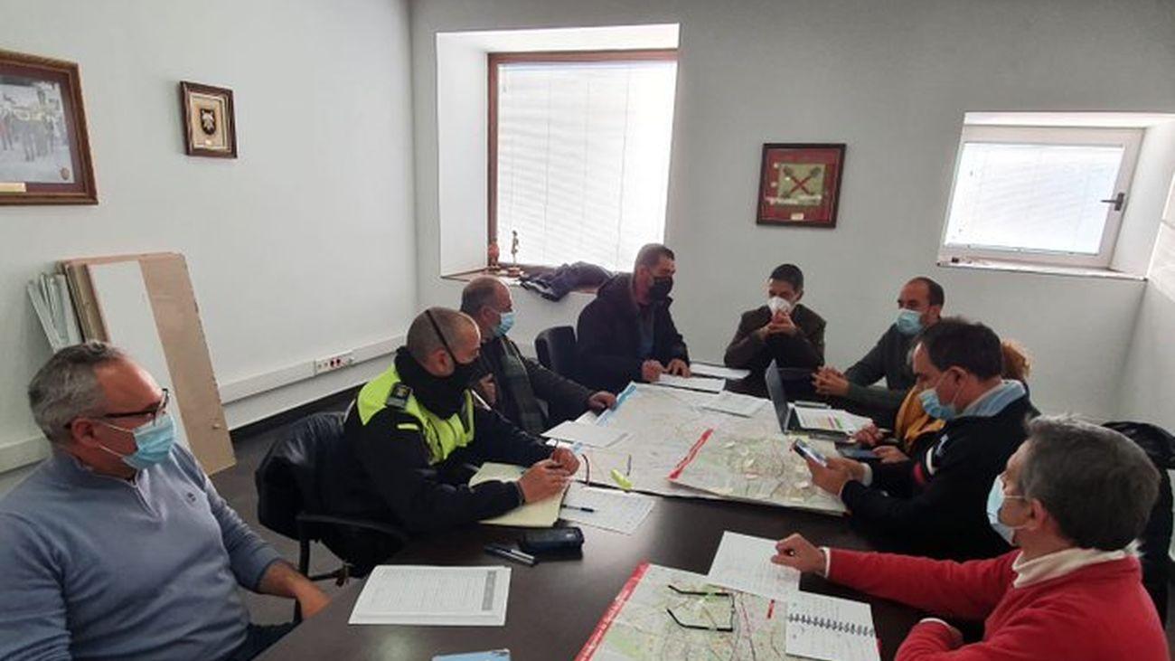 Reunión del equipo de coordinación del Plan de Inclemencias Invernales de Alcalá