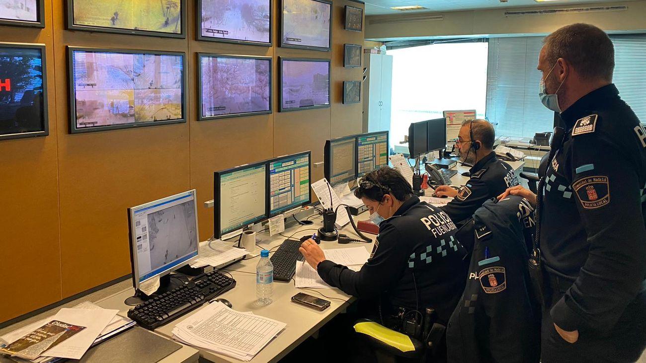 Centro de coordinación de la Policía Local de Fuenlabrada