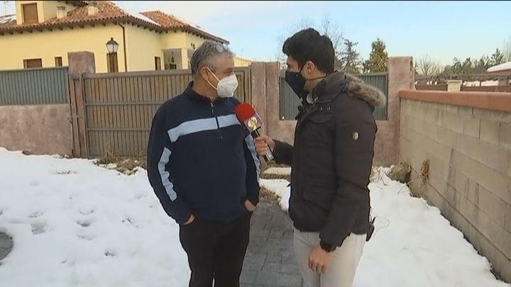 Sobrevive a Filomena derritiendo nieve en el radiador tras ocho días sin agua