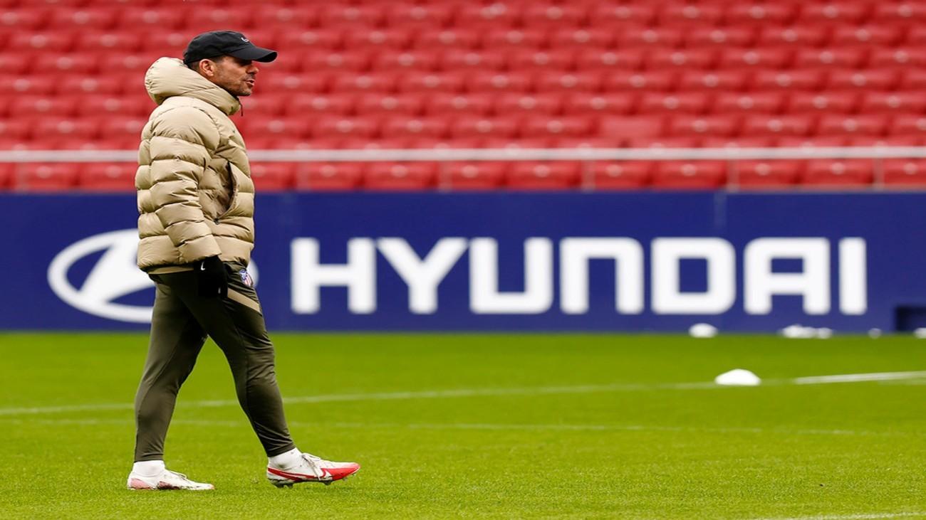 """Simeone: """"No hay nada de mi renovación, me queda un año todavía por delante"""""""