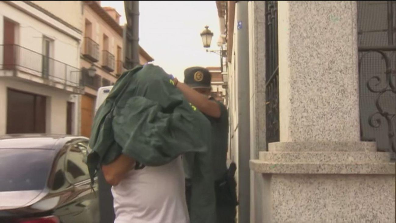 Así confesó 'Emilio el Loco' a la Guardia Civil su crimen en Chapinería
