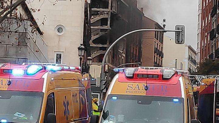 Solidaria reacción vecinal tras la explosión en la calle Toledo