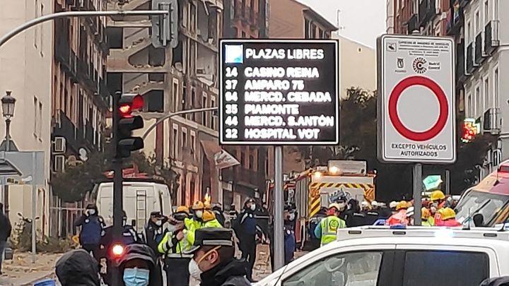 """Maite, farmacéutica de la Puerta de Toledo: """"Hemos tenido que atender a algunas personas"""""""