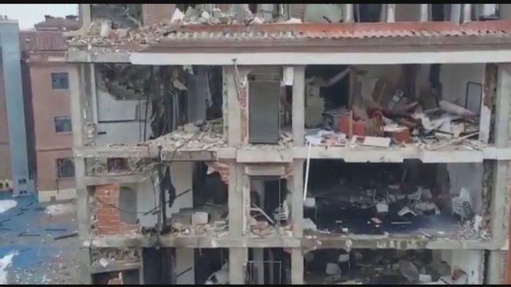 Telenoticias 1 20.01.2021 - Explosión en la calle Toledo (parte 2)