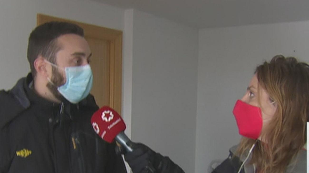 Los vecinos de La Montaña de Aranjuez siguen sin agua ni calefacción 10 días después
