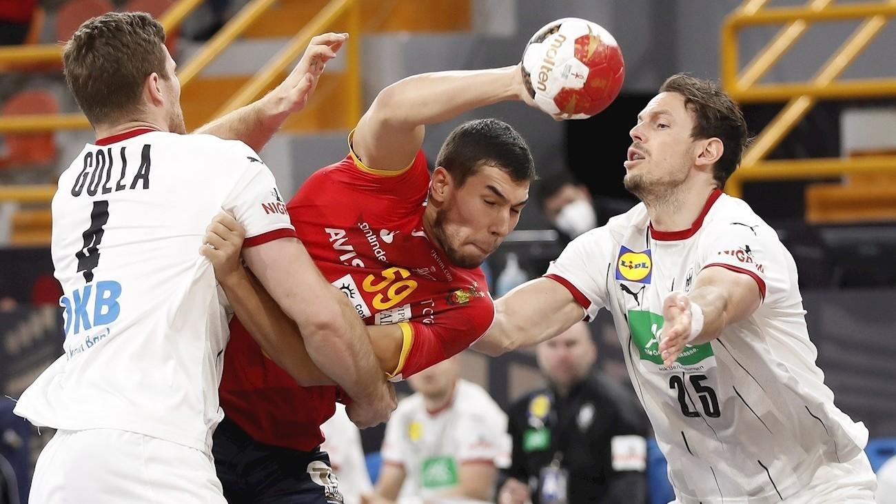 Daniel Dujshebaev ante Alemania