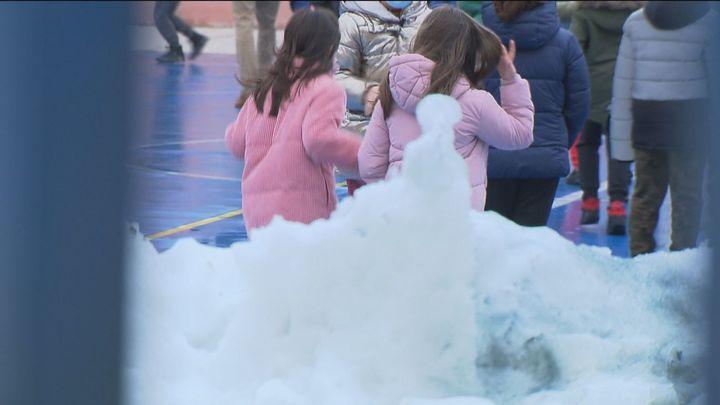 Sólo 20 colegios madrileños no han podido abrir por los efectos de la gran nevada dejada por 'Filomena'