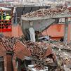 Tres fallecidos y 11 heridos en la fuerte explosión de un edificio en la calle Toledo de Madrid