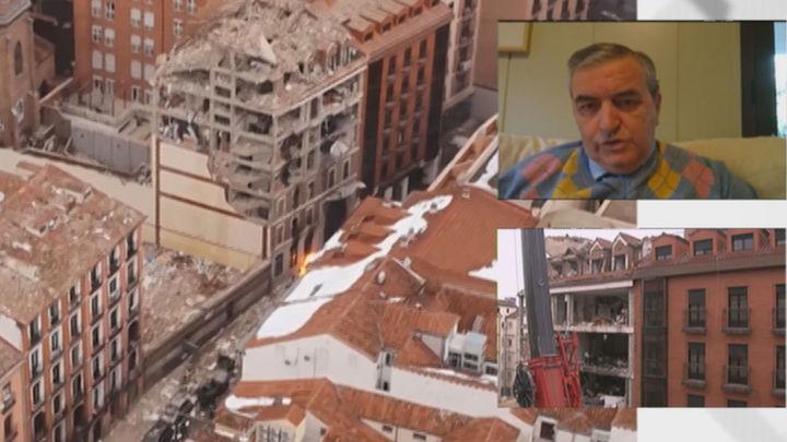 """El arquitecto Herráez cree que """"lo más seguro será demoler el edifico en su totalidad"""""""