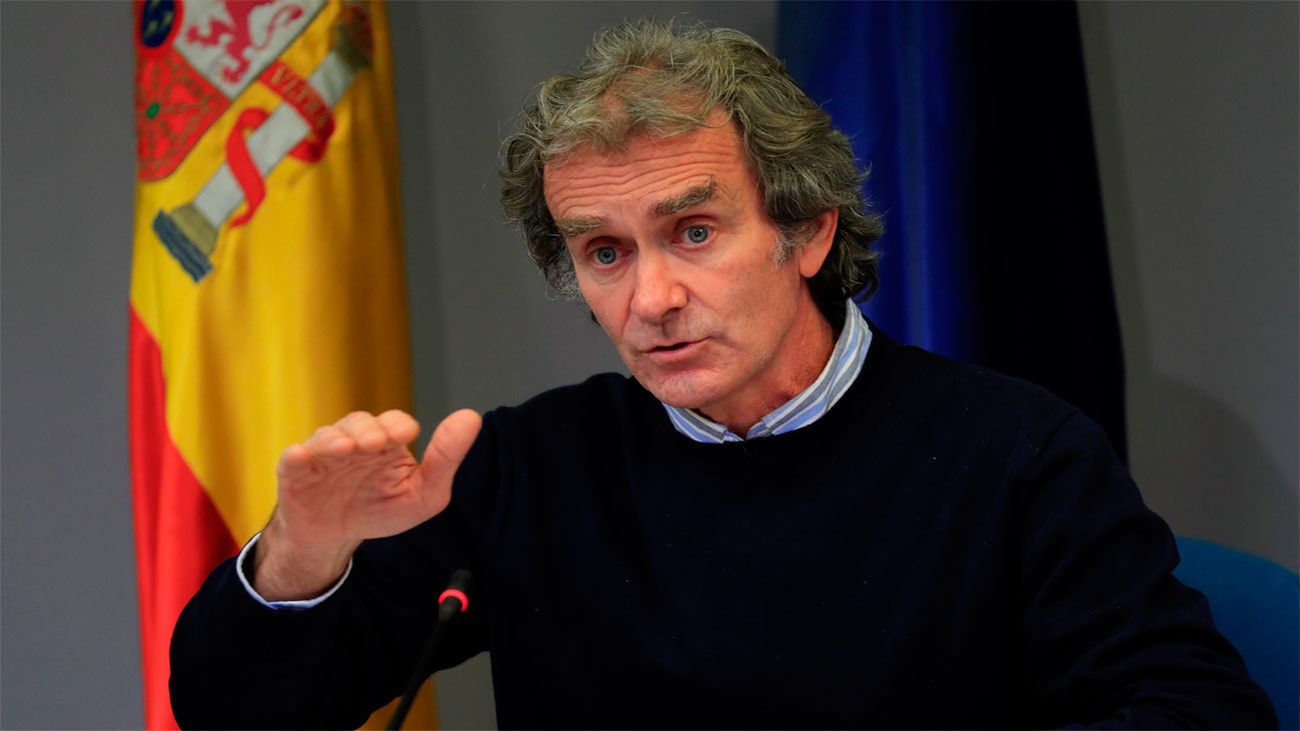 El director del Centro de Alertas y Emergencias, Fernando Simón