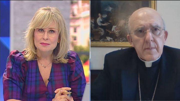 "Carlos Osoro, arzobispo de Madrid: ""Rubén llevaba siete meses ordenado como sacerdote"""