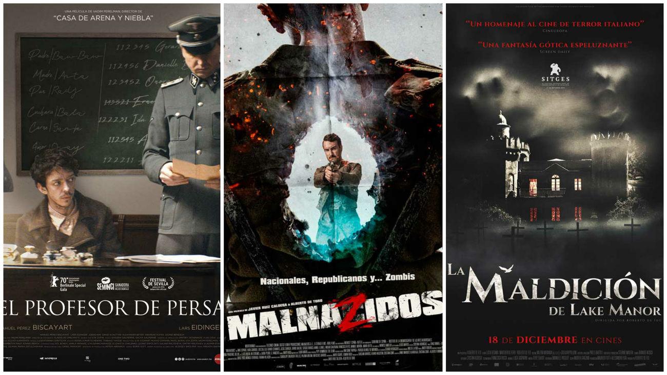 Estrenos de cine...contados de otra manera: nazis, zombis y góticos