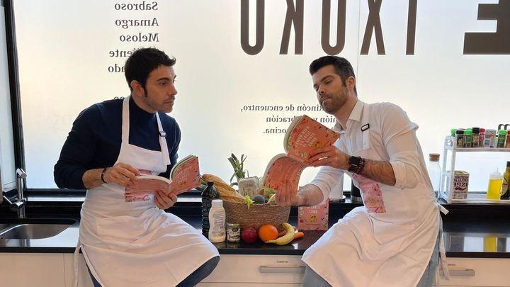 'Comer bien es fácil si sabes cómo' el nuevo libro de Alberto Herrera y Luis Alberto Zamora