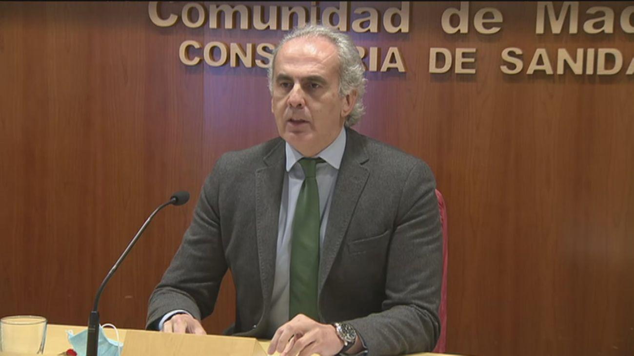 El 9% de los contagios de Covid en Madrid procede de la cepa británica y se duplica por semana