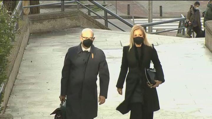 Cifuentes ya declara ante el juez por el 'caso Máster'