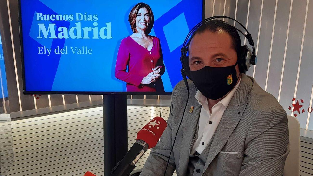 Iván Fernández, alcalde de Serranillos del Valle