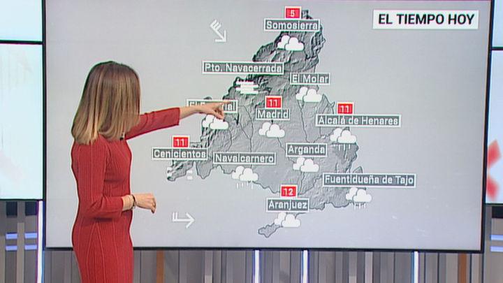 Alerta naranja en Madrid por viento con rachas de hasta 90 Km/h en la capital acompañadas de lluvia