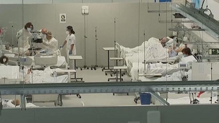 El hospital Zendal atiende ya a 371 pacientes, un 10% de los ingresados por Covid en Madrid