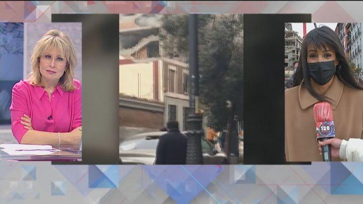 """Villacís, desde la calle Toledo: """"La mayor parte de los vecinos van a poder acceder hoy a sus casas"""""""