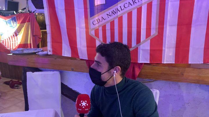 """Manu Jaimez, capitán del Naval: """"Tumbamos al Eibar, por qué no al Granada"""""""