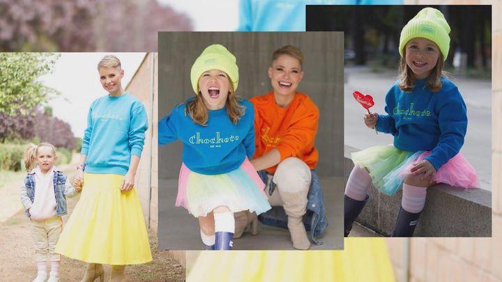 """Soraya lanza """"Chochete"""", una línea de ropa inspirada en su hija"""