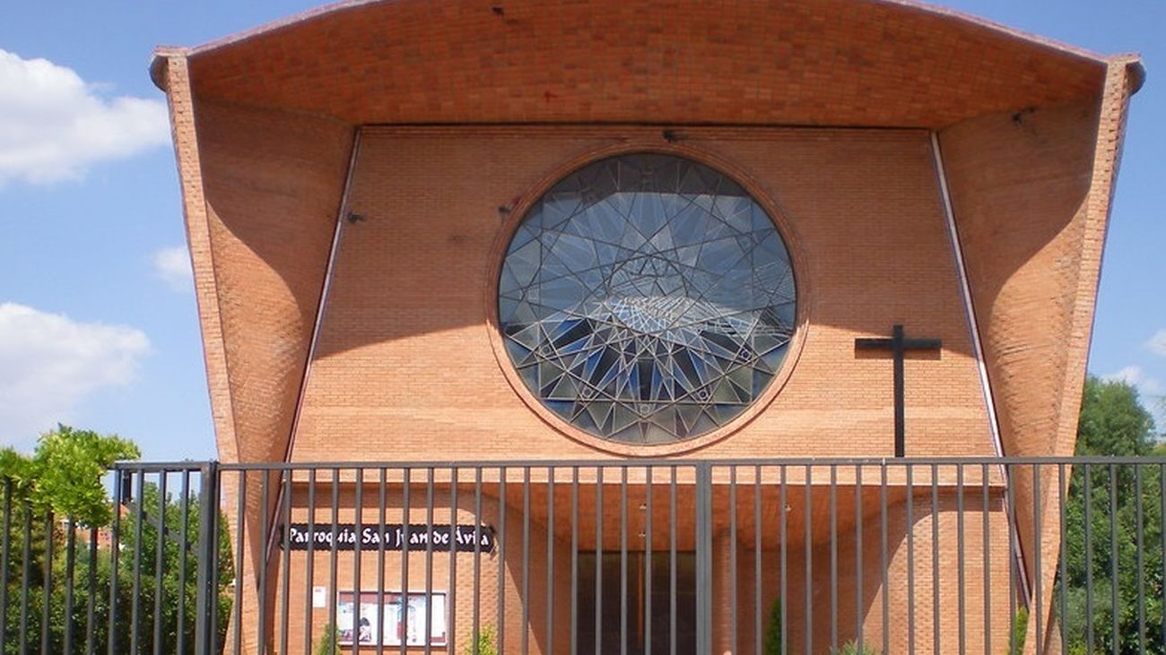 Iglesia de San Juan de Ávila en Alcalá