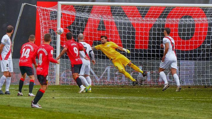 1-3. El Mallorca castiga los errores defensivos del Rayo