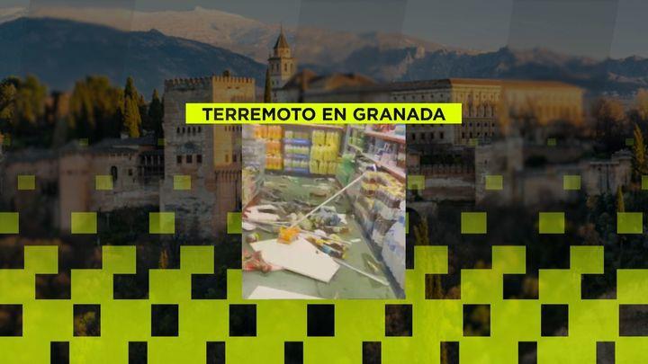 El terremoto de Granada pilla a Testu Bell, un 'streamer', en pleno directo