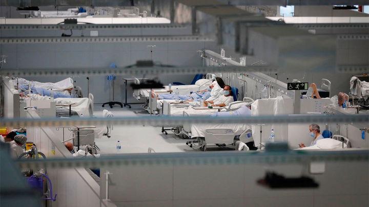 El Zendal prepara su tercer pabellón, con 352 camas de hospitalización, ante la evolución de la tercera ola