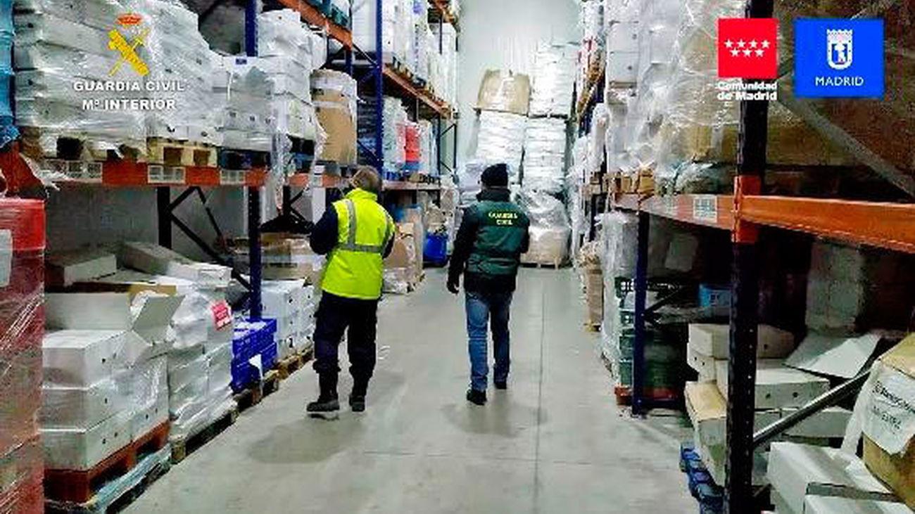 Intervenidos más de 122.000 kilos de diferentes productos cárnicos