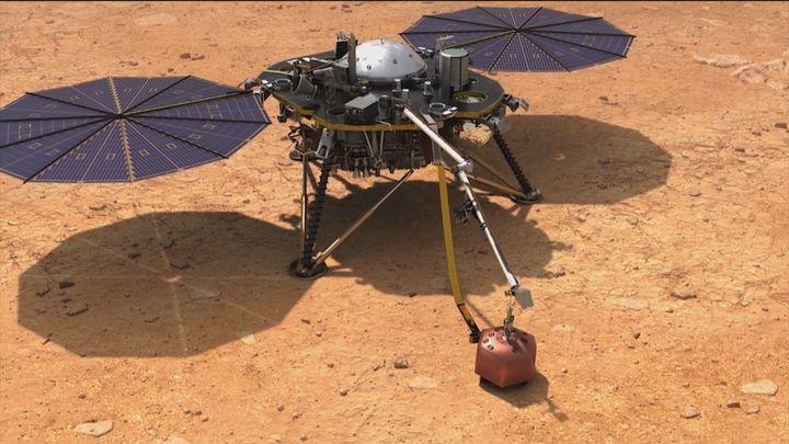 La futura red ambiental en Marte