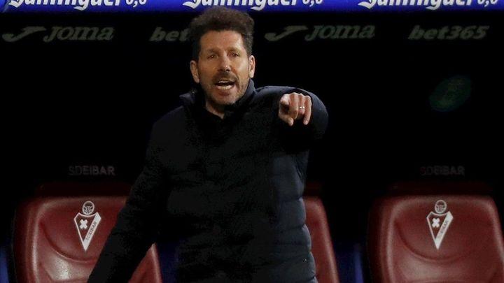 """Simeone, inconformista: """"Tenemos cosas que mejorar"""""""