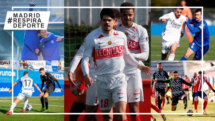 Ganan Sanse, Las Rozas y Getafe B; empatan Atleti B e Inter; pierden Naval, Rayo y Castilla