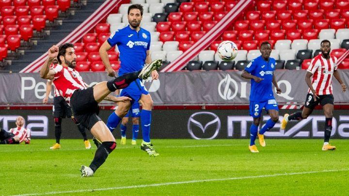 5-1. Un descafeinado Getafe es goleado por el Athletic