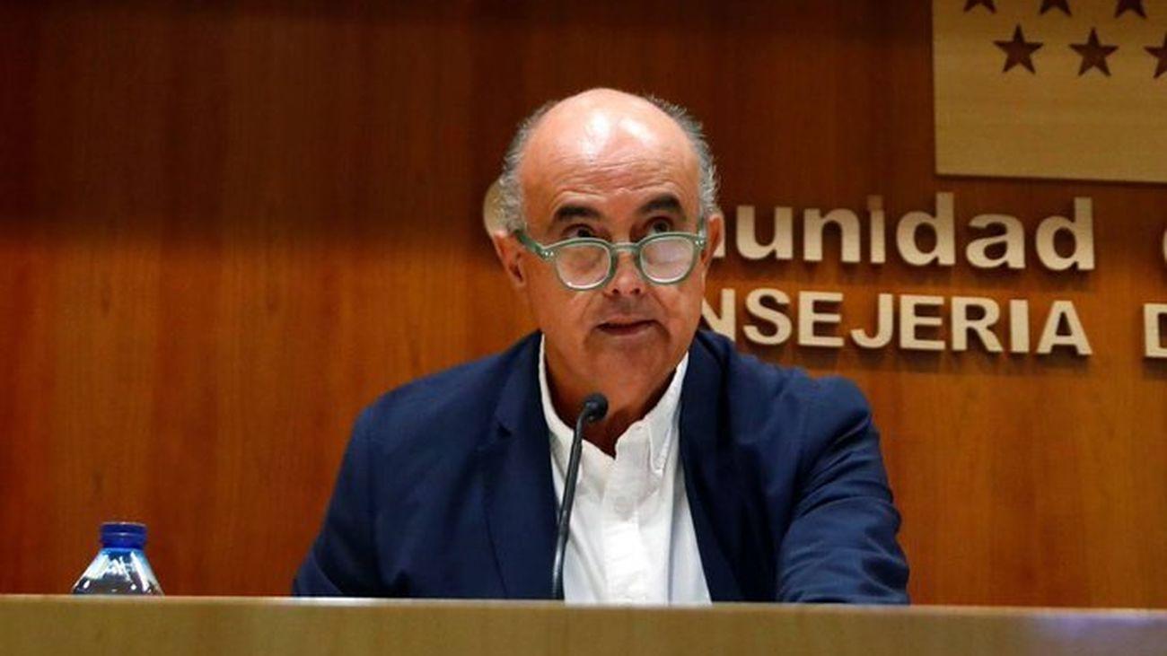 Antonio Zapatero, viceconsejero de Salud Pública y Plan Covid-19 de la Comunidad de Madrid