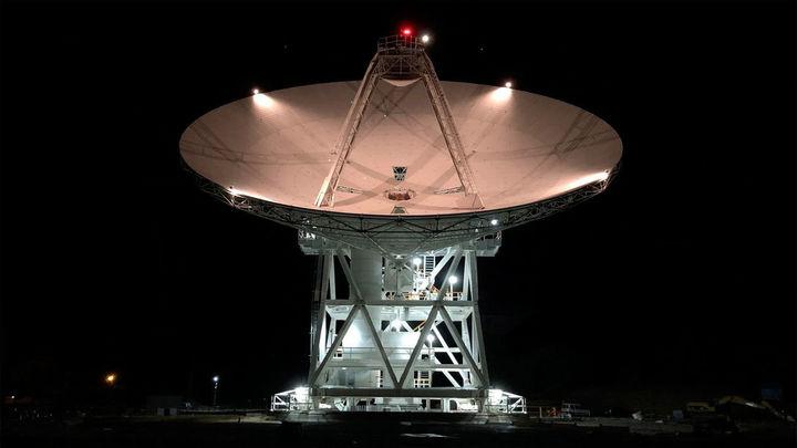 Una nueva gran antena de la NASA entra en servicio en Robledo de Chabela