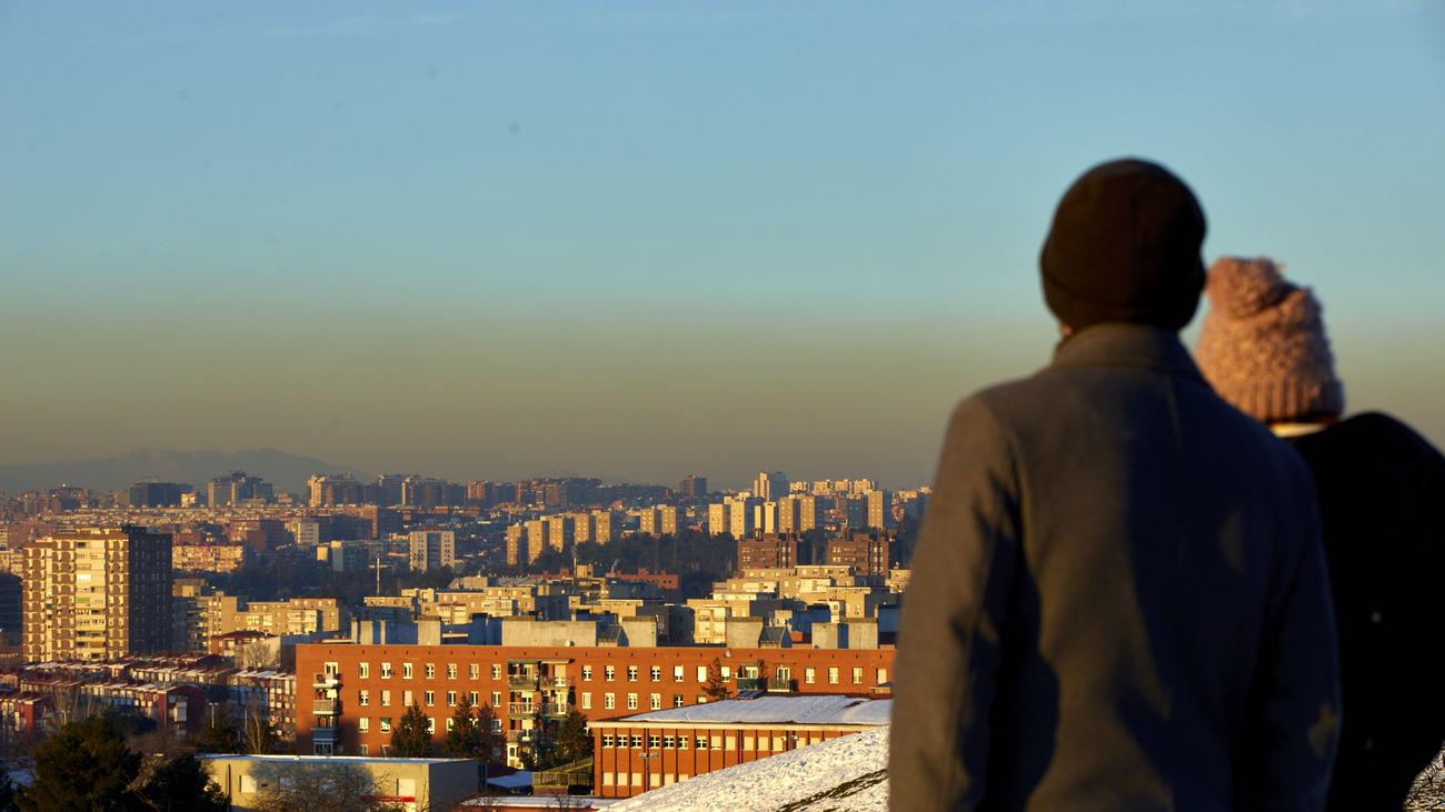 Episodio de alta contaminación en Madrid tras las nevadas