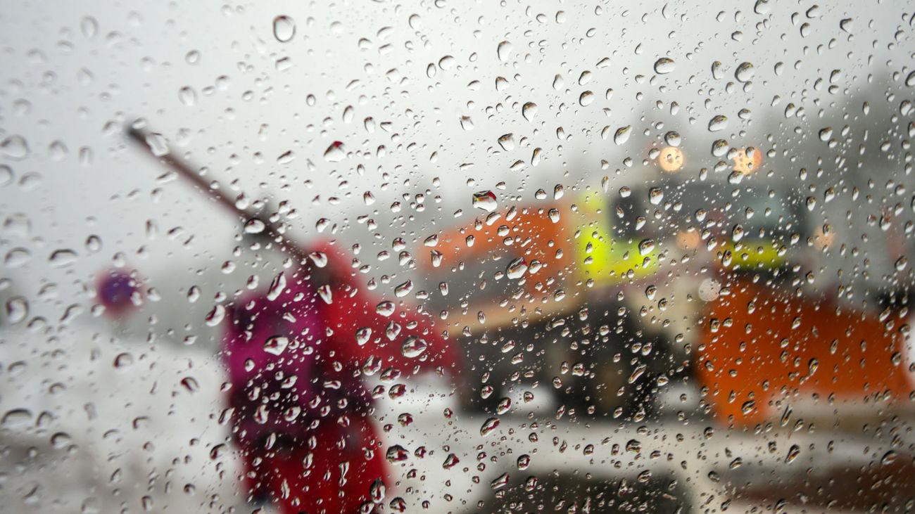 Lluvia en la sierra de madrid