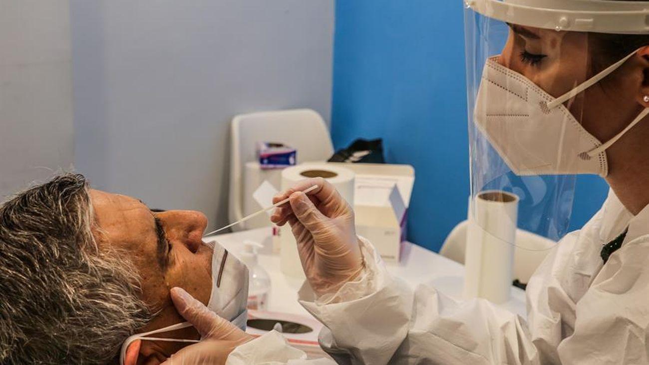 Prueba de antígenos en Madrid