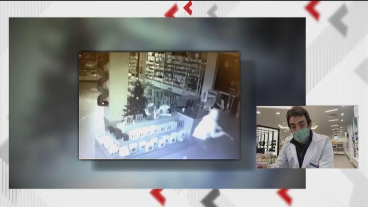 Dos robos en menos de 24 horas en una farmacia de Las Rozas