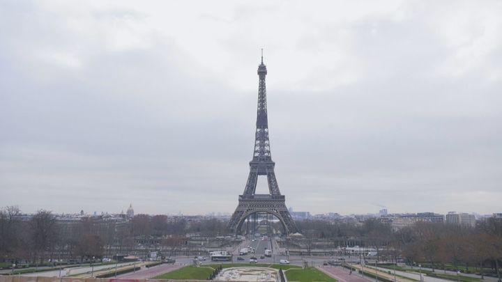 La Torre Eiffel, más sola que nunca por el coronavirus