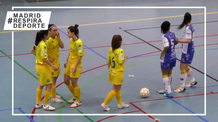 Victoria del Alcorcón y empate del Leganés en la liga de fútbol sala femenina