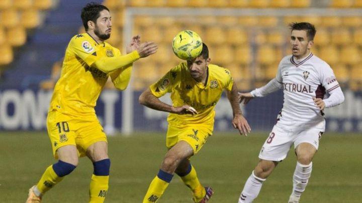 1-2. El Alcorcón, colista de Segunda tras caer ante el Albacete