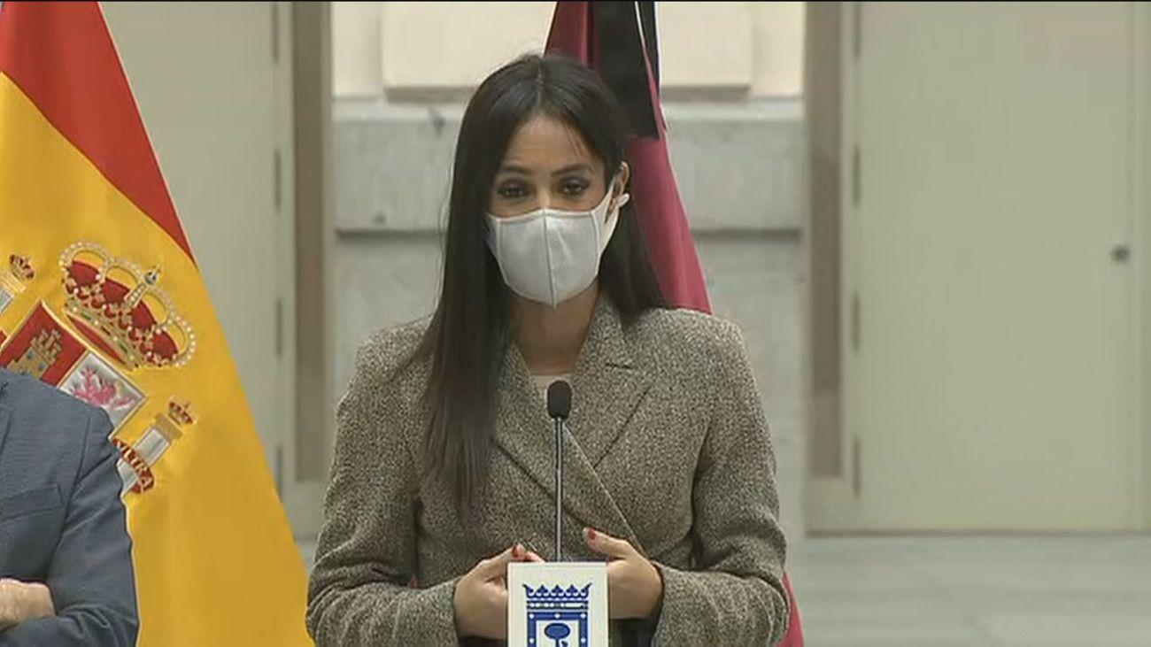 """Villacís censura el """"bulo"""" de Irene Montero y dice que Madrid """"no elimina"""" la Dirección de Igualdad"""