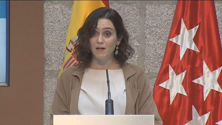 """Ayuso dice que Sánchez """"solo hace propaganda y que todo le da igual"""""""